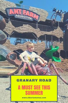 This weekend we had the privilege of touring Granary Road located minutes outside of Calgary. Play Areas, Imaginative Play, Spiders, Calgary, Frogs, Bats, Worlds Largest, Touring, Exploring