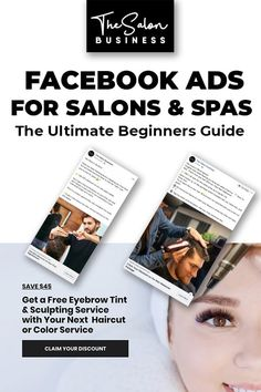 The ultimate list of proven salon marketing ideas. Grow your salon business with these simple and effective salon marketing strategies and salon promotions. Salon Promotions, Salon Software, Best Salon, Salon Business, Skin Clinic, How To Use Facebook, Facebook Marketing, Marketing Ideas, Business Marketing