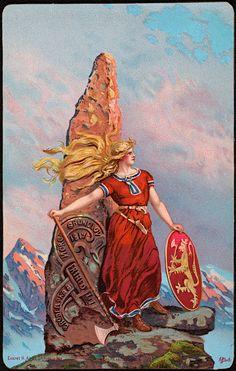 Dig into hundreds of articles about Norse mythology, Nordic culture, and Vikings Viking Shield Maiden, Viking Warrior, Viking Life, Viking Woman, Viking Wedding, Viking Culture, Survival, Old Norse, Norse Vikings