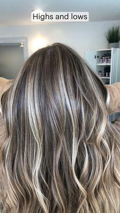 Blonde Hair Looks, Brown Blonde Hair, Gray Hair, Brown Hair Going Grey, Blonde Fall Hair Color, Balayage Highlights Brunette, Medium Ash Blonde Hair, Sandy Brown Hair, Brown Hair With Blonde Balayage