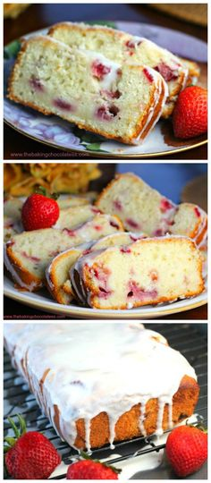 Lemon Strawberry Pound Cake – The Baking ChocolaTess