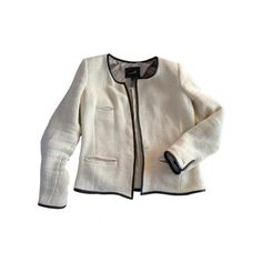 Veste beige ISABEL MARANT Beige taille 2 (38-40) Printemps / Eté -... ($275) ❤ liked on Polyvore featuring outerwear, jackets and isabel marant