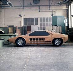 Alfa Romeo Carabo (Bertone), 1968 - Design Process