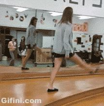 This girl who learned walking is harder than it looks. | 38 Epic Fails That Will Make You Feel Better About Yourself