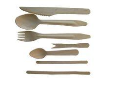 Kniv av tre - 100 stk (5554)] The 100, Tableware, Dinnerware, Dishes