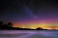 Milkyaurora by Ville Lukka on Northern Lights, Universe, Amazing, Nature, Photography, Travel, Naturaleza, Photograph, Viajes
