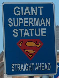 Metropolis, IL! Because giant Superman statues are hard to miss?