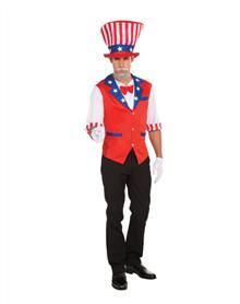 Patriotic Shirt & Hat perfect for 4th of July parties and Halloween shenanigans!
