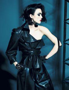 Star: Keira Knightley Photographers: Mert & Marcus Fashion editor: Karl Templer Makeup: Lucia Pieroni Hair: Paul Hanlon From Interview magazine, April 2012