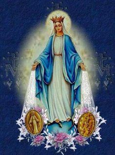 Nossa Senhora das Graças Nossa Senhora da Medalha Milagrosa