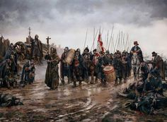 The Battle of Empel or Miracle of Empel (Milagro de Empel in Spanish). Work in Progress, by Augusto Ferrer-Dalmau. Renaissance, Military Art, Military History, Spanish War, Medieval, Thirty Years' War, Landsknecht, Conquistador, Historical Art