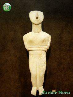 Tipo canónico, obra temprana de la variedad Spedos Museo del Arte Cicládico, Atenas.