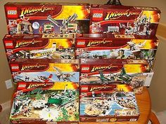 LEGO Indiana Jones Complete Sealed Collection 17 Sets 7199 7627 7623 7626 7622