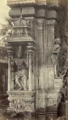 Rare Old Photos Of Meenakshi Amman Temple, Madurai, Tamil Nadu, India - MERE PIX