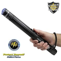 Order your Police Force Volt Tactical Stun Baton Flashlight and other self defense products from Department of Self Defense. Your trusted source for self defense products. Self Defense Tips, Self Defense Weapons, Bright Led Flashlight, Glass Breaker, Surveillance System, Survival Knife, Guns, Military, Meet