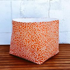 DOG TOYS BASKET Storage Organizer Large Bag Bones Canvas Cotton Reversible Bucket Bin Hamper Laundry Box Handmade Gift