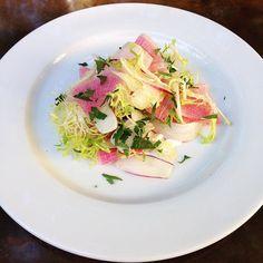 Fennel Radish & Ricotta Salad by cheznouscharleston