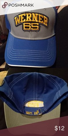 NWT Werner Truckers Hat NWT Werner Truckers hat Established in 1948 Blue/Grey Accessories Hats