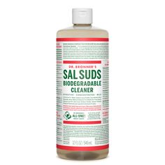 DR BRONNER'S | Sal Suds Biodegradable All Purpose Cleaner - 32 oz. ● Surfactants and ingredients not palm oil derived, great for all household needs,  including dish washing