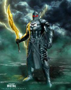 Dark Knight Metal: Merciless (The God of War) Comic Villains, Superhero Villains, Comic Book Characters, Comic Book Heroes, Evil Batman, Batman Armor, Batman Dark, Batman Universe, Comics Universe