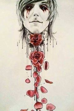 Drawing idea!!! (Oliver Sykes) (From bring me the horizon)