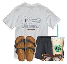 """Really like these Birks, I want some❤️"" by flroasburn on Polyvore featuring Patagonia, NIKE, American Eagle Outfitters and H&M"