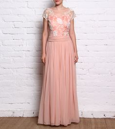 Pink Georgette Dress #dress #top #cape #fusionwear