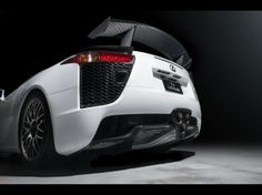 2013-Lexus-LFA-Nurburgring-Edition-White-Rear-Section