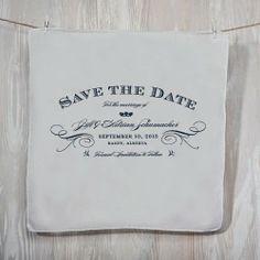 Handkerchief Wedding Invitations #wedding #invitations #handkerchief