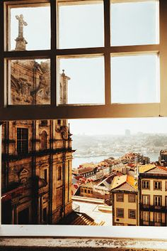 Looking out on Porto [Portugal] - Architecture and Urban Living - Modern and Historical Buildings - City Planning - Travel Photography Destinations - Amazing Beautiful Places Cool Places To Visit, Places To Travel, Places To Go, Holiday Destinations, Travel Destinations, Abandoned Warehouse, Portuguese Culture, Centre Commercial, Portugal Travel