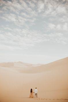 Desert Sand Dunes Engagement Session – Jennaly & Orcino – Asha Bailey Photography – ashabailey.com