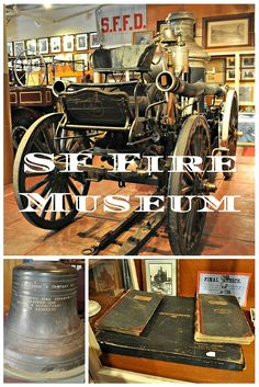 Fascinating little museum filled with memorabilia and info about the famous 1906 earthquake and fire.
