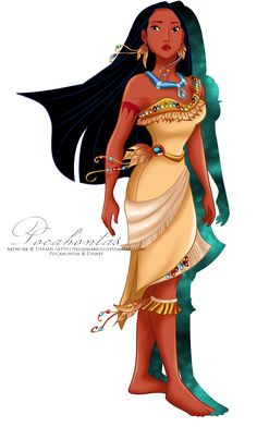 Pocahontas's new outfit by *selinmarsou on deviantART
