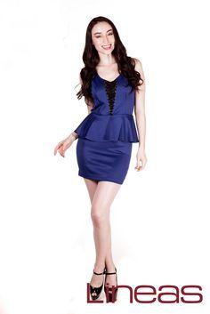 Vestido, Modelo 19421. Precio $270 MXN #Lineas #outfit #moda #tendencias #2014 #ropa #prendas #estilo #primavera #outfit #vestido