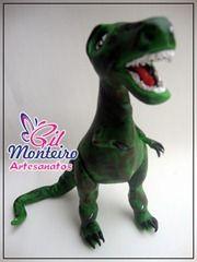 Gil Monteiro Artesanatos - RJ: Dinossaauro