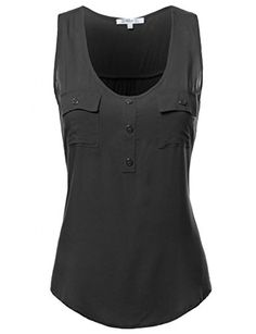 FPT Womens Sleeveless Rayon Blouse (S…
