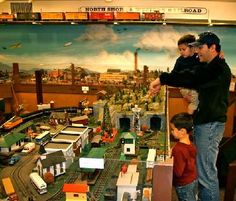 Wenham Museum Model Train Gallery Photography by Mary Barthelmes