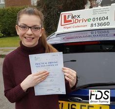 Driving Lessons in Northampton: Congratulations to Rosie Watts from Earls Bartonwho passed her practical Driving Test on the 30th January 2017, 1st time too. Very well done and best wishes from your Driving Instructor Nigeland