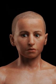 A hyper-realistic sculpture by French artist Elisabeth Daynès reconstructs a teenage boy named Minidris who was mummified centuries ago in ancient Egypt.