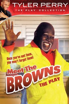 Tyler Perry's Meet the Browns - The Play: Tyler Perry, David Mann, Tamela Mann, Joyce Williams: Madea Movies, Old Movies, Comedy Movies, Horror Movies, Black Love Movies, Tyler Perry Movies, Tamela Mann, Black Tv Shows, Plus Tv