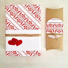 #Slovakfolkpattern #wrappingpaper #prettypaper #coffee #sweetkiss #Valentinesday  #love