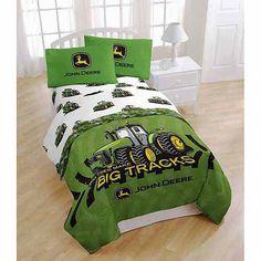John Deere John Deere Tractor Boys Twin Comforter & Sheet Set (4 Piece…