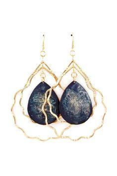 Emily Teardrop Chandelier Earrings