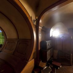 Bag End hobbit-hole interior | Hobbit houses | Pinterest
