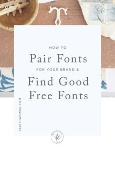 free fonts, font pairing and typography in graphic design Web Design, Graphic Design Tutorials, Blog Design, Graphic Design Inspiration, Business Inspiration, Portfolio Design, Design Trends, Creative Business, Business Tips