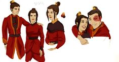 Fire Sibling sketches by jurodo on DeviantArt Avatar Show, The Last Avatar, Avatar Series, Avatar The Last Airbender Art, Team Avatar, Avatar Azula, Avatar Legend Of Aang, Avatar Quotes, Anime Play