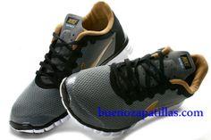 Hombre Nike Free 3.0 V2 Zapatillas (color : vamp - gris , en el interior y logotipo - oro, unica - blanco)