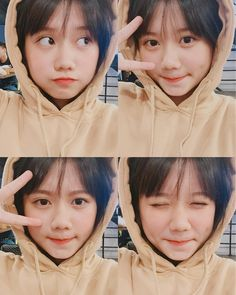 Korean Girl Photo, Cute Girl Photo, Girl Photo Poses, Girl Photos, Ulzzang Fashion, Ulzzang Girl, Tomboy Girl, Cap Girl, Cute Love Memes