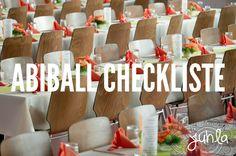 Abiball Checkliste