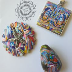 vive la vie. .. Fimo, Polymer Clay Jewelry